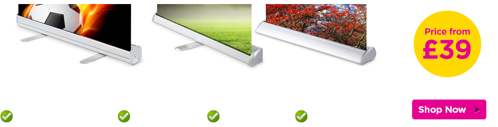 Pull up banner printing London